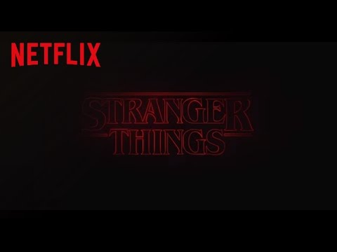 Stranger Things   Title Sequence [HD]   Netflix