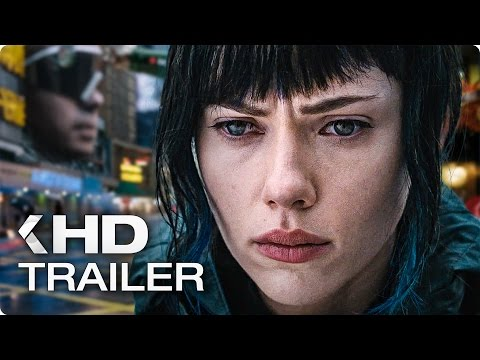 GHOST IN THE SHELL Trailer German Deutsch (2017)