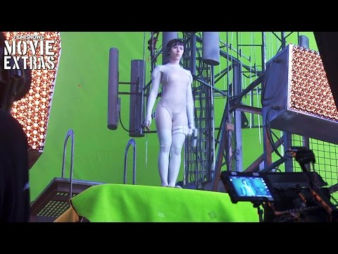 Ghost In The Shell 'WETA Workshop & More' Featurettes (2017)