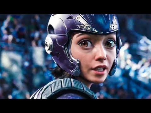 Motorball Stadium Fight Scene - ALITA: BATTLE ANGEL (2019) Movie Clip