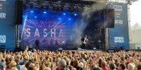 Kieler Woche 2018: Soundcheck mit Sasha auf der Hörnbühne